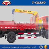 factory sale SQ4SA2 swivel telescopic boom small lift crane for truck with ISO9001 certification