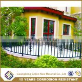 Indoor balcony guardrails, stair balustrades,Customized Aluminum Decorative Villa Railing
