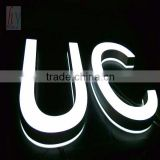 Led Front Lit Numbers Plastic Wall Mounted Letters/led front lit numbers /wall mounted letters