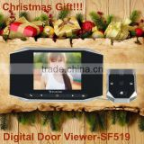 christmas novelty products motion detection cordless door bell