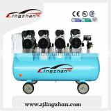 Low dB High Air Flow Mute Oil Free Piston Dental Auto Air Compressor with air compressor pump