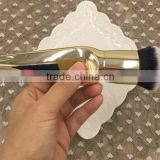 custom silver golden metal make up round powder cream foundation brush                                                                         Quality Choice