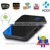 Android tv HD Indian Iptv Video Amlogic S805 bluetooth 4.0 Quad Core Indian Iptv Android Tv Box