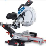 305mm 1600w/2000w Power Wood/Aluminum Cutting Machine / Double-bevel electric power miter saw /machinery