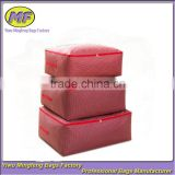 600d 100% Polyester Oxford Fabric For Storage Boxes/pu Coated Oxford Fabric Image