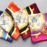 High quality fashion jewelry silk scarf printed silk scarf twill silk scarf 90cmx90cn                                                                         Quality Choice