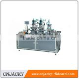 CNJ-TD400 automatic PVC card embossing and tipping machine