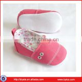 Elinfant 2016 Cotton fabric wholesale shoes baby soft sole baby shoes                                                                         Quality Choice