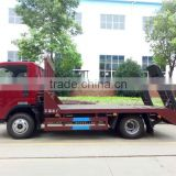 2016 China high quality carrier towing truck flatbed tansportation wrecker trucks for sales