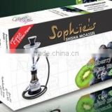 SHEESHA _HOOKAH_TOBACCO_FLAVOURS 50 GRAMS X 10 BLUE BERRY KIWI MINT TINGLER TOBACCO FLAVOUR
