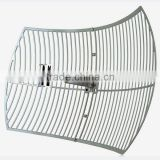 20 dBi 1920-2170 MHz parabolic grid antenna cordless phone antenna high gain 3g repeater antenna