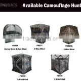 Camouflage Hunting Tent for Deer Hunting With Gun or Bow