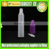 10ml 15ml 30ml 0.5oz 1oz Hot sale PE E-liquid plastic dripper bottle with childproof tamper-proof cap