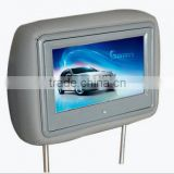 9'' inch Digital Signage In-Car Advertising Display 3g Taxi Headrest LCD Media Player