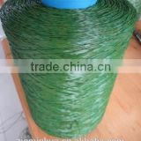 9500Dtex straight & curly assembled artificial turf grass yarn for landscaping court,soccer,football field