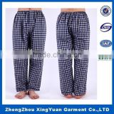 2016 new design man Pajama Pant With 100% Cotton Flannel Printed Lounge Pants