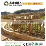 wood plastic composite wpc picket fence / railing with good looking