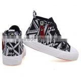 ethnic trend high top sneakers vulcanized cheap casual canvas shoes girl sneaker shoe, shoes kids 2016