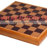 High Quality Traditional Wood Chess and Backgammon Set with Wood Chessmen