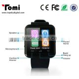 Smart Watch U8 Bluetooth Call SMS Reminder Pedometer For OS Android Phones Black