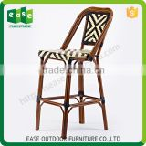 Bulk Discount Hard bamboo look bar chair rattan