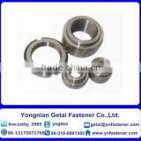 hot dip galvanizing round weld nuts DIN928 carbon steel M8
