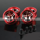 19115 Aluminum alloy wheel hub for Tamiya MINI 4WD,DIY Aluminum alloy wheel hub 23.5*11.5mm