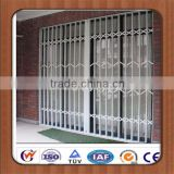 Anti-theft decorative security bars for windows