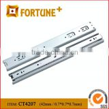 CT4207 42MM Slide Dining Table Extension Hardware Cabinet Sliding Drawer Guides For Drawer Slide Parts