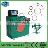 steel raw material and hydraulic power ring making machine metal wire ring forming machinery