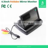 16:9 Screen Type and Dashboard Placement 4.3 inch car tft lcd dashboard monitor