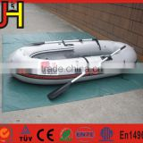 1 Set Portable Inflatable Fishing Boat High Quality PVC Rubber Boat Fishing Boat with Paddles