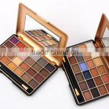 Europe and the United States sell like hot cakes cardboard 24 color cosmetic box, beautiful fashion eye shadow box