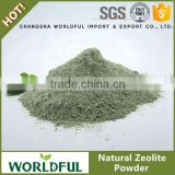 Green natural zeolite powder, factory used in detergent industry
