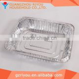 High Quality Household Aluminum Foil Container Paper Lid,Airline Aluminum Foil Container