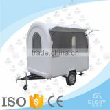 Favorable price outdoor mobile bakery food cart trailer/ fast food kiosk/food truck manufacturers