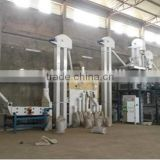 Sesame cleaning line / soybean cocoa bean wheat corn rice paddy seed processing machine plant