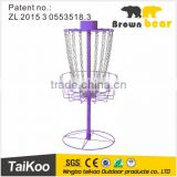 newest design disc golf baskets with high quality