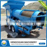 Modern design Small Scale Gold Processing Equipment / Mobile Gold Machine with CE&ISO