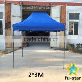 PN 3*3m outdoor advertising trade show tent gazebo high quality pop up tent with half side walls