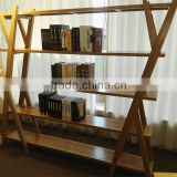 China new model living room furniture modern wood bookcase and cabinet