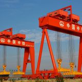 heavy duty box type shipbuilding gantry crane