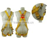adjustalbe falling protective full body safety belt safety harness with high quality