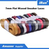 Wax Shoelaces Flat Sports Exercise Fitness Vintage Waxed Shoes Laces Accessories - Provide Custom Services - Accept Custom