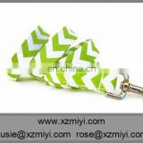 New arrivel colorful chevron dog leash with collar