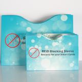 Passport Information Protector RFID Blocking Sleeves Secure Card Cover Holder for payment credit cards passports