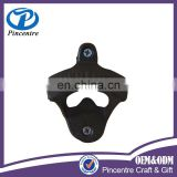Zinc alloy wall mount bottle opener for beer
