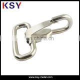 steel spring snap dog hook/metal dog chain hook