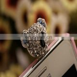 RHINESTONES PHONE ANTI DUST PLUG