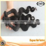 The most popular cheap body wave 100% wholesale raw unprocessed virgin brazilian hair